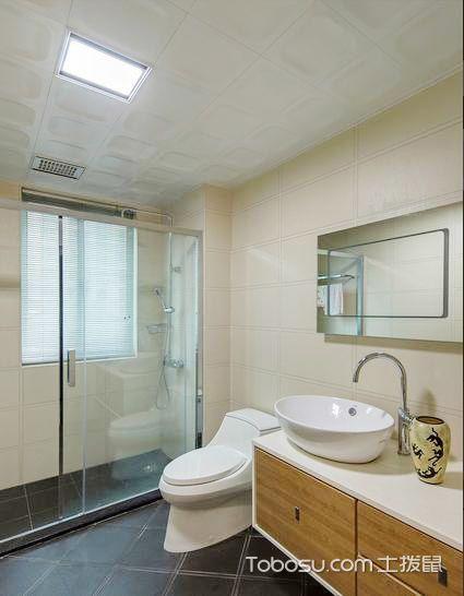 视觉延伸空间 16款卫生间吊顶图片