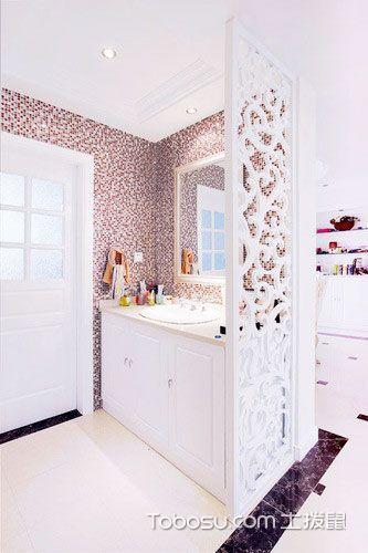 12张卫生间装饰效果图 时尚大气