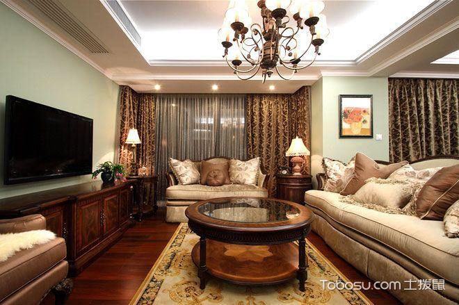 感受美式经典 11个古典美式客厅设计