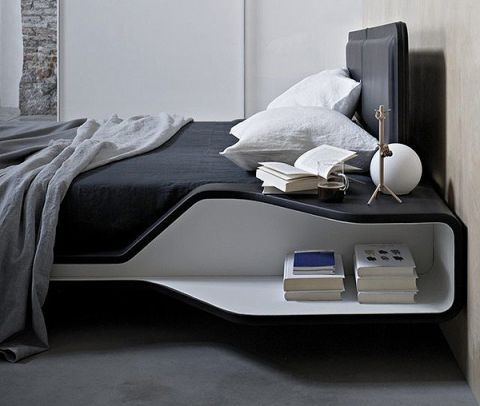 卧室床头柜宜家设计图欣赏