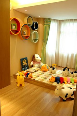 个性儿童房设计效果图