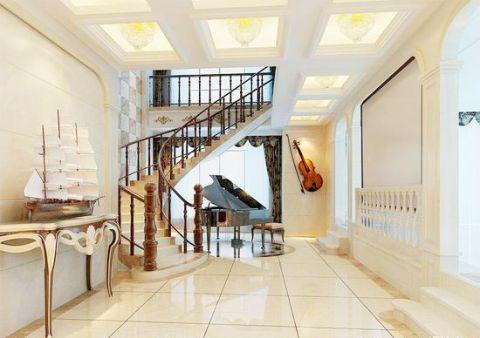 公寓121平米欧式风格效果图图片