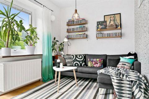 北欧风格公寓80平米装饰实景图片