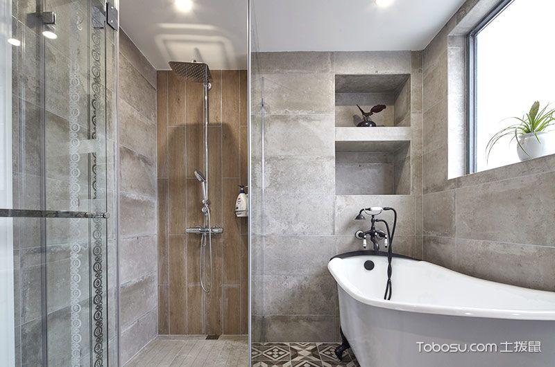 2018现代浴室设计图片 2018现代浴缸装修效果图大全