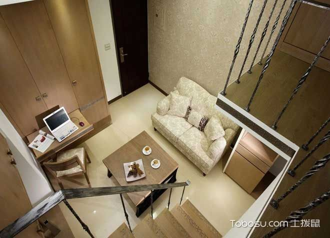 2020乡村客厅装修设计 2020乡村楼梯装修设计