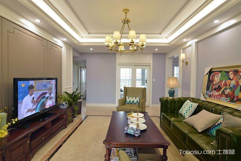 2020田园150平米效果图 2020田园二居室装修设计
