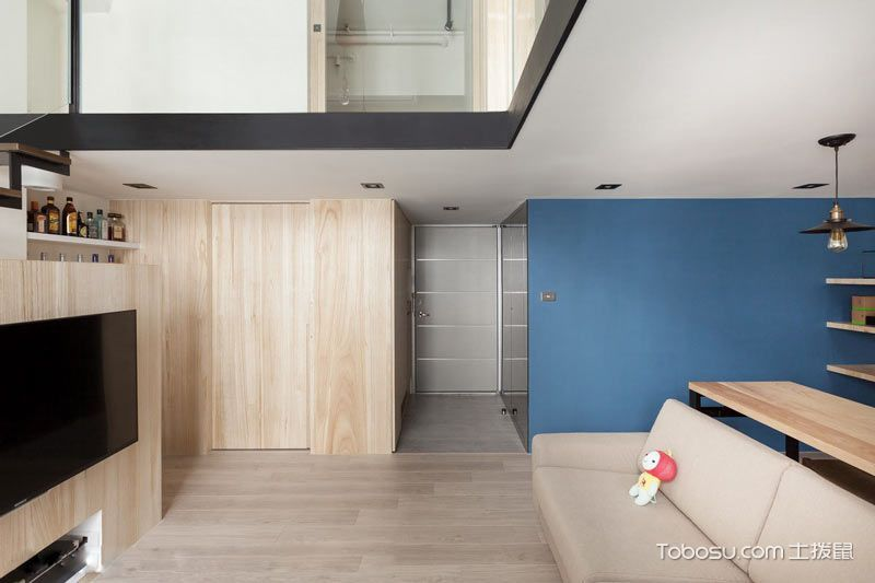 2019简约客厅装修设计 2019简约地砖装修效果图大全