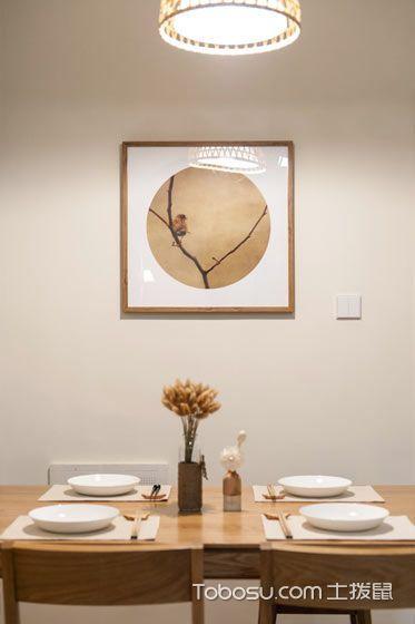 2019日式餐厅效果图 2019日式背景墙装修图