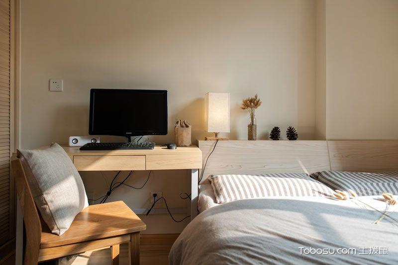 2018日式卧室装修设计图片 2018日式书桌装修图