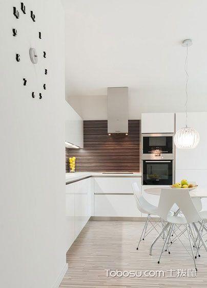 2018现代简约厨房装修图 2018现代简约吊顶装饰设计