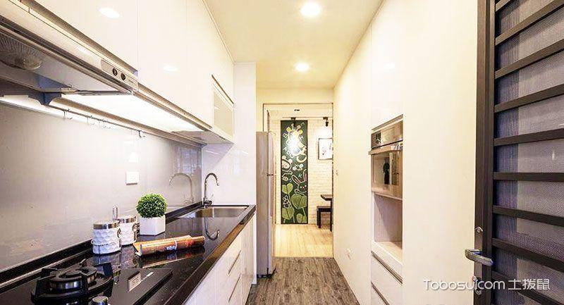 2019现代厨房装修图 2019现代橱柜装修效果图片