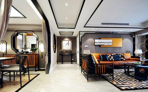 2019新中式110平米装修设计 2019新中式四居室装修图