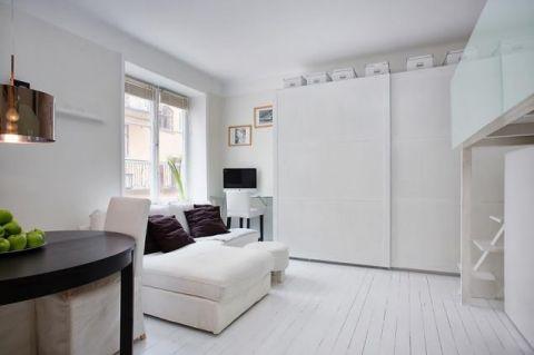 2019简约60平米以下装修效果图大全 2019简约公寓装修设计