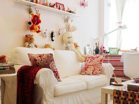 田园客厅沙发装饰设计