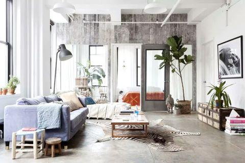 公寓60平米工业风格装修