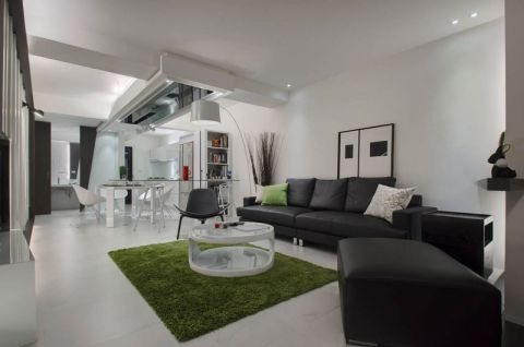 85平米套房现代风格装修图