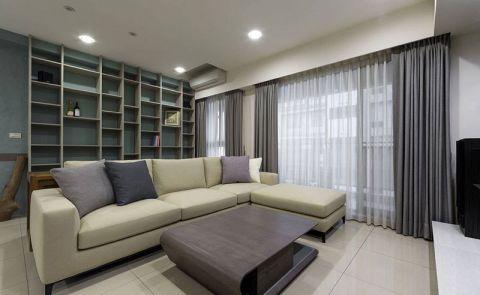 86平米套房现代风格装饰图