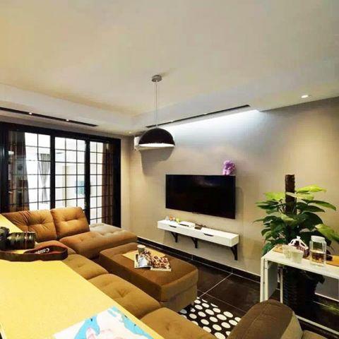 2018简约60平米以下装修效果图大全 2018简约二居室装修设计