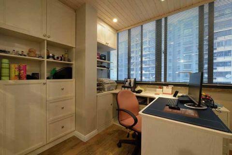 美好书房书桌设计图欣赏