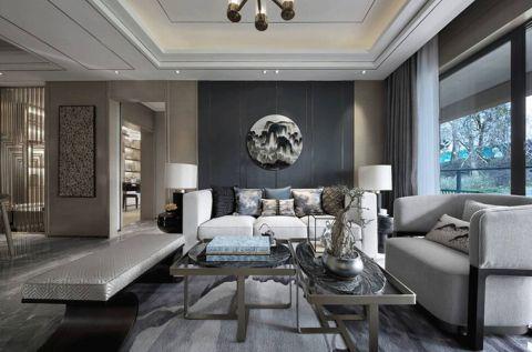 新中式客厅沙发图片