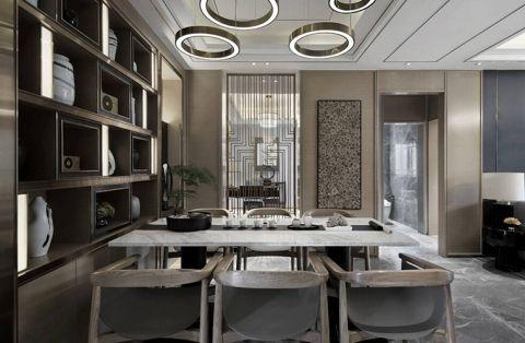 写意白色餐厅设计图欣赏
