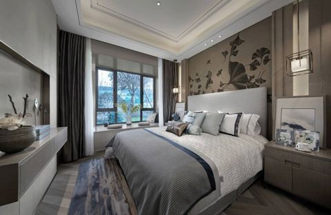 格调卧室新中式设计
