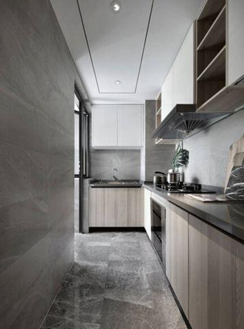 简单大气厨房吊顶室内装修图片