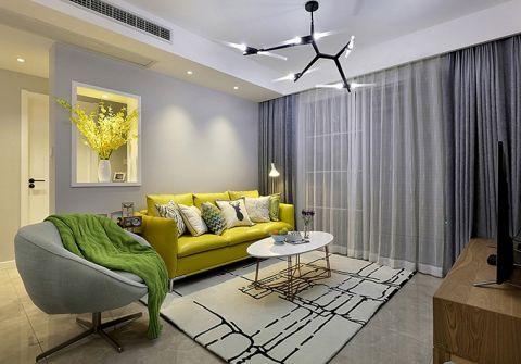 美式客厅沙发设计图片