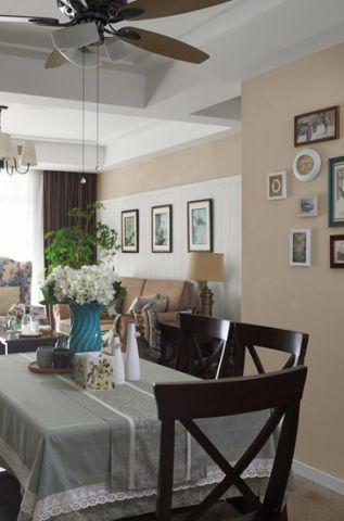 纯净餐厅美式装修案例图片