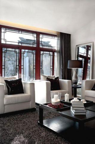 混搭客厅沙发家装设计图