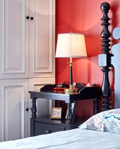 2018美式卧室装修设计图片 2018美式灯具装饰设计