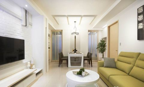 2018现代简约客厅装修设计 2018现代简约沙发装修设计