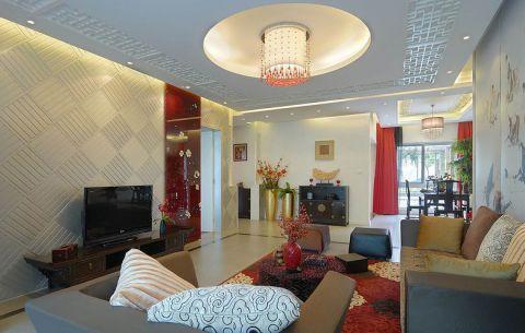 富丽客厅装修效果图欣赏