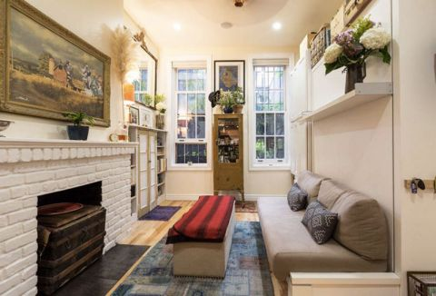 舒适现代灰色沙发装饰图片