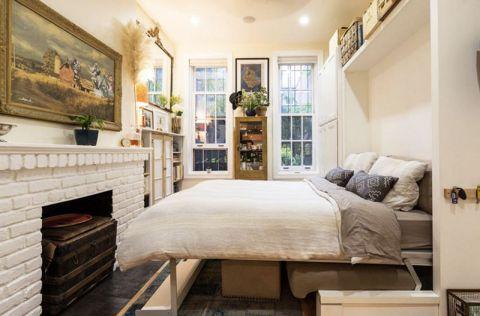 2018现代卧室装修设计图片 2018现代吊顶效果图