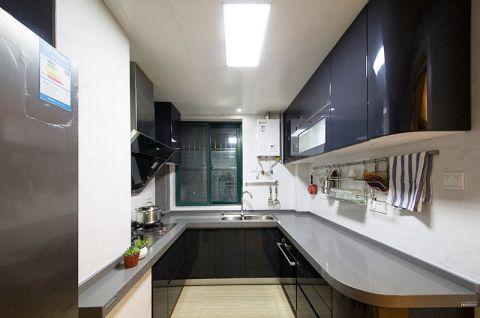豪华厨房平面图