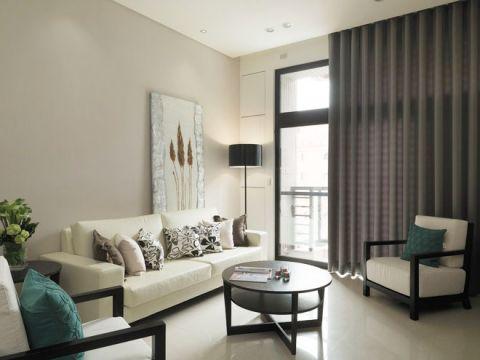 富丽灰色客厅设计图片