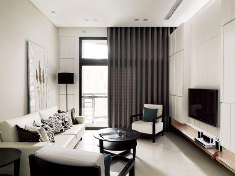 豪华客厅现代简约设计图片