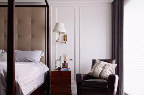 2018美式卧室装修设计图片 2018美式窗帘装修设计图片