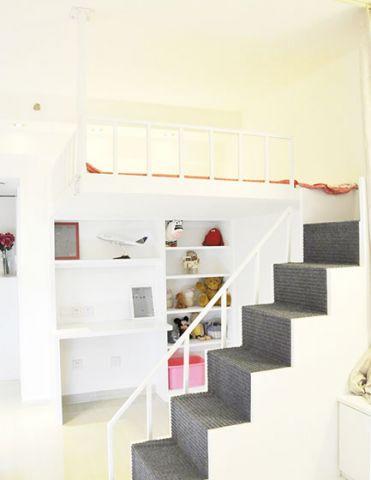 卧室吊顶现代装修实景图