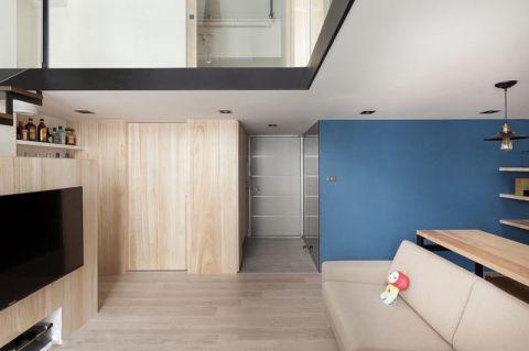 格调咖啡色地砖室内装修设计