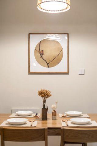 2018日式餐厅效果图 2018日式背景墙装修图