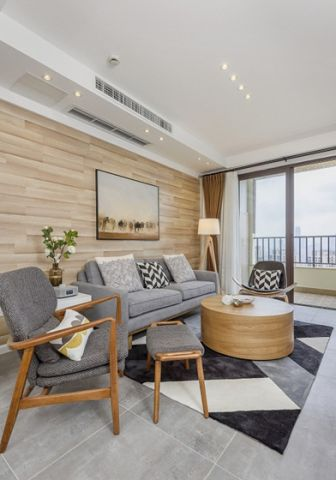 美好灰色客厅装修方案