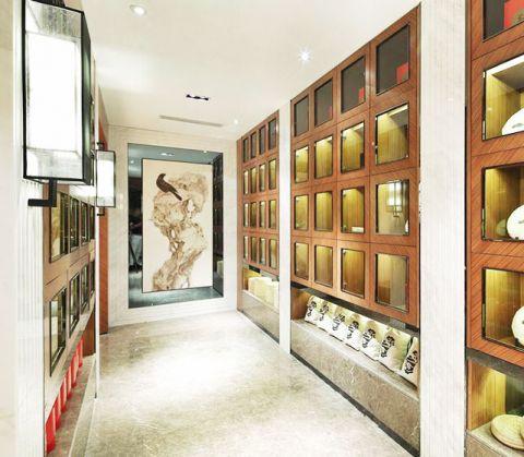新中式玄关吊顶家装设计