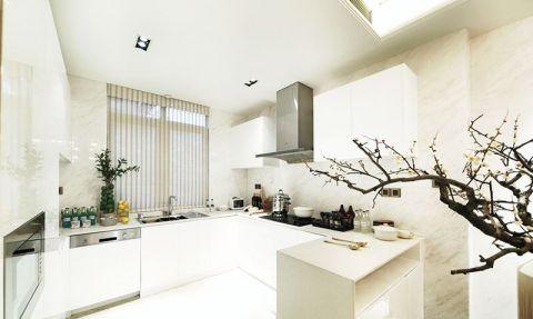 厨房橱柜新中式装修效果图