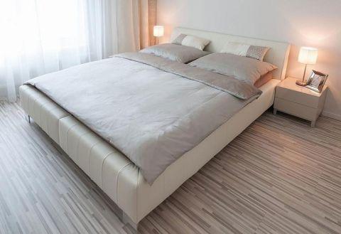 卧室床现代简约室内装修设计