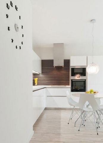 沉稳厨房现代简约效果图