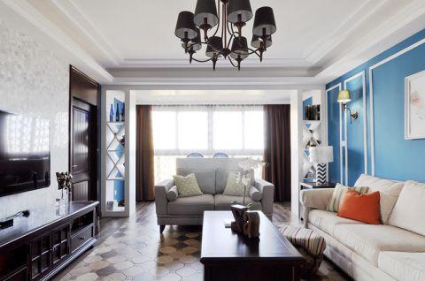 美轮美奂客厅美式装修