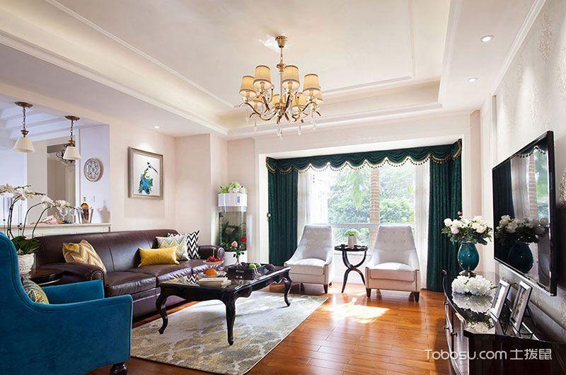 2021新古典110平米装修设计 2021新古典套房设计图片