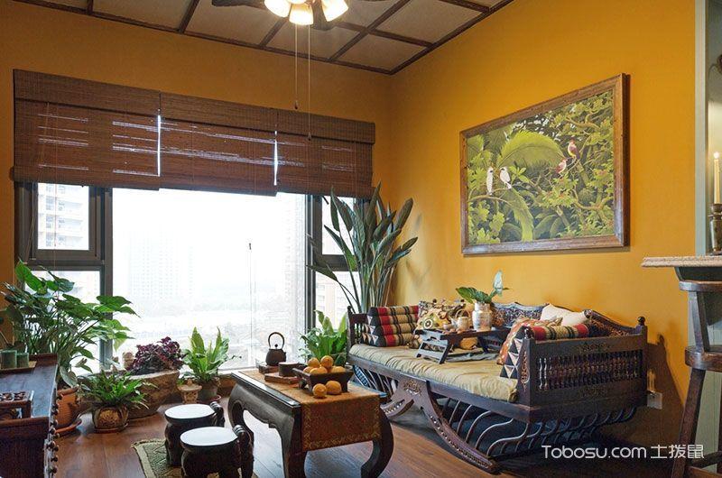 2021东南亚60平米以下装修效果图大全 2021东南亚一居室装饰设计